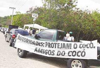 Manifestação dos Amigos do Cocó