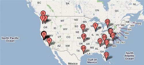 Imagem Data Centers Google Maps