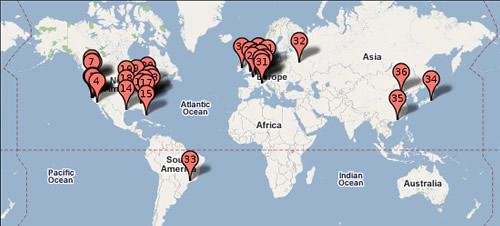 Imagem Data Centers Mundi Google Maps