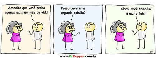 Mais uma do Dr. Pepper