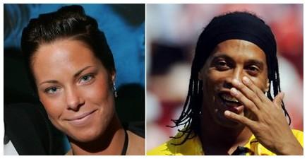 Ronaldinho e Johanna